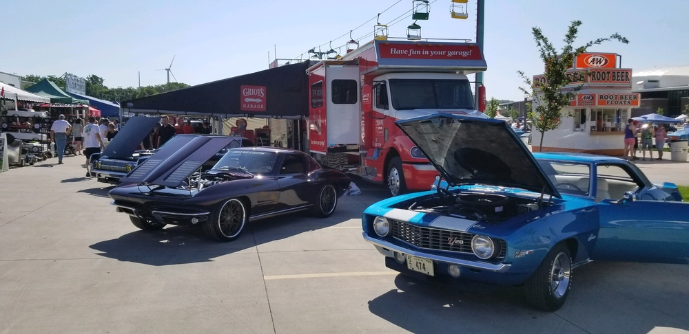 Split second griots garage, 69 z28 Camaro