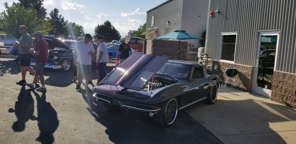 Corvette at Pinkee's After Party Goodguys 2018