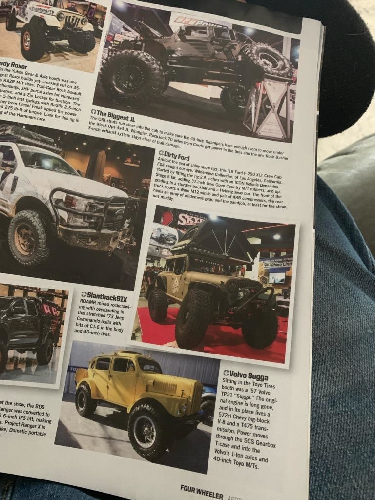 Sugga in Four Wheeler Magazine
