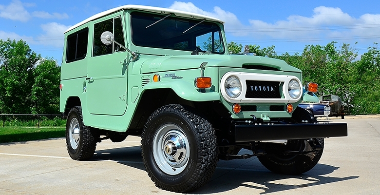 Eddie's Rod and Custom 1969 Toyota Land Cruiser